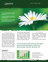 Nature & Environment: Daisy Chain Newsletter Template #05462