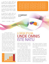 Consulting: Matching Piece Newsletter Template #05496