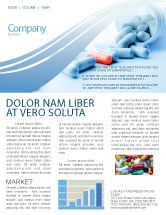 Medical: Drug Therapy Newsletter Template #05497