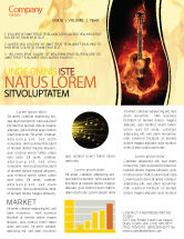Art & Entertainment: Jazz Guitar Newsletter Template #05536