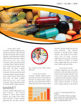 Medical: Drug Treatment Newsletter Template #05572