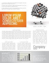 Business Concepts: Templat Buletin Game Catur #05694