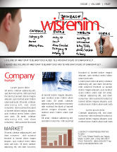 Technology, Science & Computers: Database Newsletter Template #05734