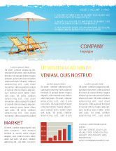 Careers/Industry: Beach Bench Newsletter Template #05791