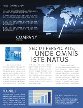 Consulting: Stock Market Jumping Rate Newsletter Template #05883