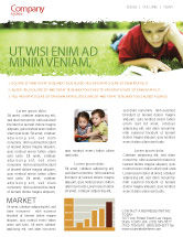 Education & Training: Lesen auf sommerferien Newsletter Vorlage #05977