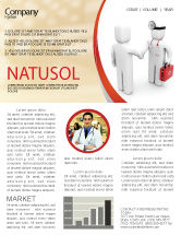 Medical: Patient and Doctor Newsletter Template #06021