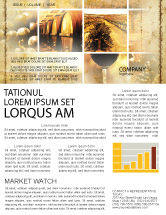 Agriculture and Animals: Winegrowing Newsletter Template #06049