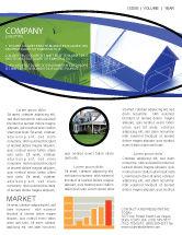 Construction: House Plan Newsletter Template #06085