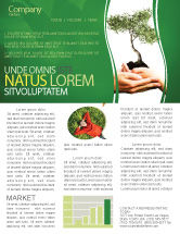 Nature & Environment: Growth Newsletter Template #06130