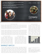 Education & Training: Blackboard Newsletter Template #06184