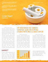 Medical: Herbal Medicine Newsletter Template #06227