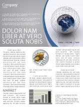 Global: World Outlook Newsletter Template #06277