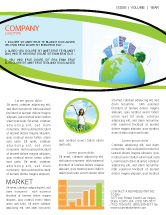 Nature & Environment: Green City Newsletter Template #06283