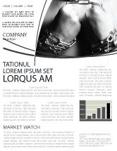 Consulting: Chained Man Newsletter Template #06319