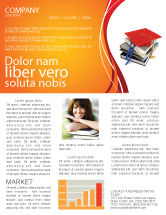 Education & Training: Higher Education Newsletter Template #06324