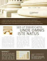 Construction: Doric Columns Newsletter Template #06332