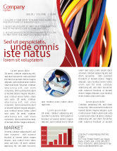 Telecommunication: Cables Newsletter Template #06465