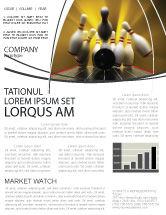 Business Concepts: Fallen Skittles Newsletter Template #06514