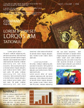 Education & Training: Historical Exploration Newsletter Template #06590
