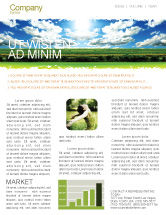 Nature & Environment: Bright Day Newsletter Template #06630