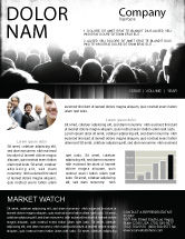 Art & Entertainment: Mob Newsletter Template #06683