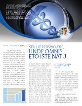 Medical: Medicine Newsletter Template #06812