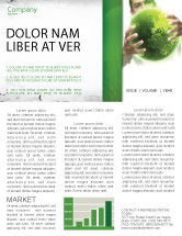 Nature & Environment: Green World in Human Hands Newsletter Template #06955