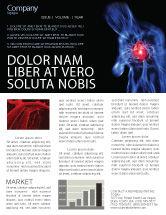 Medical: Heart Catadrome Newsletter Template #06982