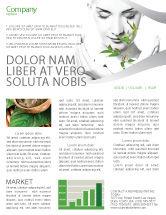 Nature & Environment: Bio Cosmetics Newsletter Template #07032