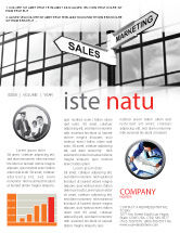 Careers/Industry: Marketing and Sales Newsletter Template #07207