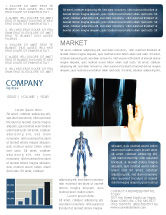 Medical: X-Ray Photography Newsletter Template #07221