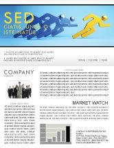 Business Concepts: Modèle de Newsletter de rival #07246