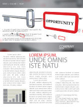 Consulting: Key Opportunity Newsletter Template #07495