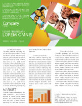 Careers/Industry: Students Team Newsletter Template #07551