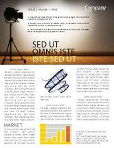 Careers/Industry: Photo Studio Newsletter Template #07606
