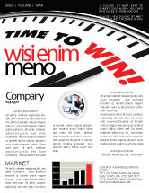 Consulting: Time to Win Newsletter Template #07651