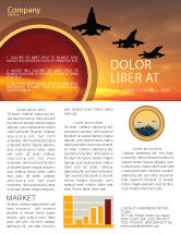 Military: Modello Newsletter - Aircraft sfilata #07701