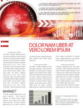 Global: Weltthema Newsletter Vorlage #08027