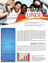 youth newsletter templates in microsoft word adobe illustrator and