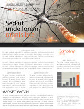Medical: Neurons Networks Newsletter Template #08156