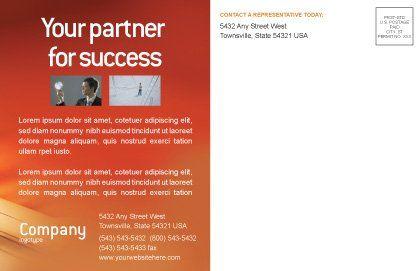 Task List Postcard Template, Inner Page, 02185, Business — PoweredTemplate.com