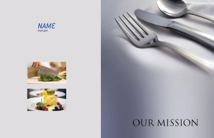 Dinner Postcard Template, Outer Page, 02312, Careers/Industry — PoweredTemplate.com