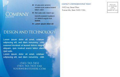 Holy Spirit Postcard Template, Inner Page, 02361, Religious/Spiritual — PoweredTemplate.com