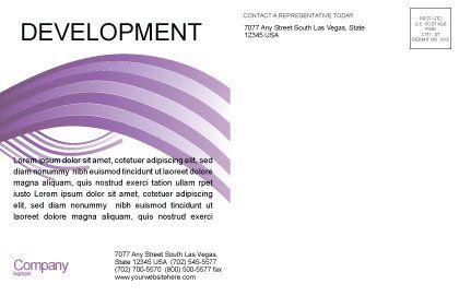 Lotto Balls Postcard Template, Inner Page, 02574, Art & Entertainment — PoweredTemplate.com