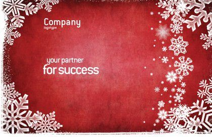 Christmas Theme Postcard Template, Outer Page, 02848, Holiday/Special Occasion — PoweredTemplate.com