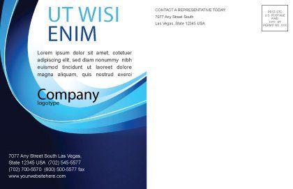 Leadership Program Postcard Template, Inner Page, 03720, Business Concepts — PoweredTemplate.com