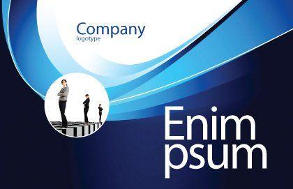 Leadership Program Postcard Template, Outer Page, 03720, Business Concepts — PoweredTemplate.com
