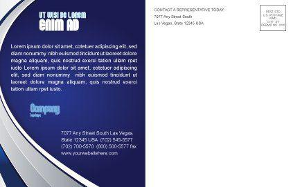 Luminary Postcard Template, Inner Page, 04043, Nature & Environment — PoweredTemplate.com