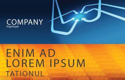 Arrow Point Postcard Template, Outer Page, 04157, Business Concepts — PoweredTemplate.com